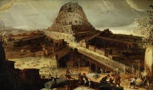 Torre de babel de Hendrick van Cleve